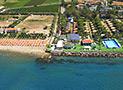 Il Villaggio Copacabana e la spiaggia di Casal Velino visti dall'alto