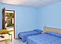 Una delle 82 camere da letto del villaggio